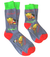 Thelwell Wake Up! Socks - Two Sizes