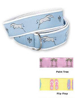 Equine Couture Ribbon Belts, Size Medium Only