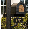 Keystone Address Plaque Deluxe Post
