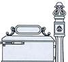 IMPERIAL MAILBOX SYSTEM #290-210K - Knob Door