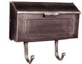 Horizon Wall Mount Mailbox Horizontal