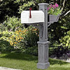 Westbrook Plus Mailbox Post - Color