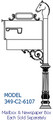 IMPERIAL CONTEMPORARY SERIES MAILBOX POST SYSTEM C2-6107