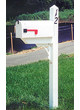 PT Post White with Standard Mailbox Installed 25 mile radius