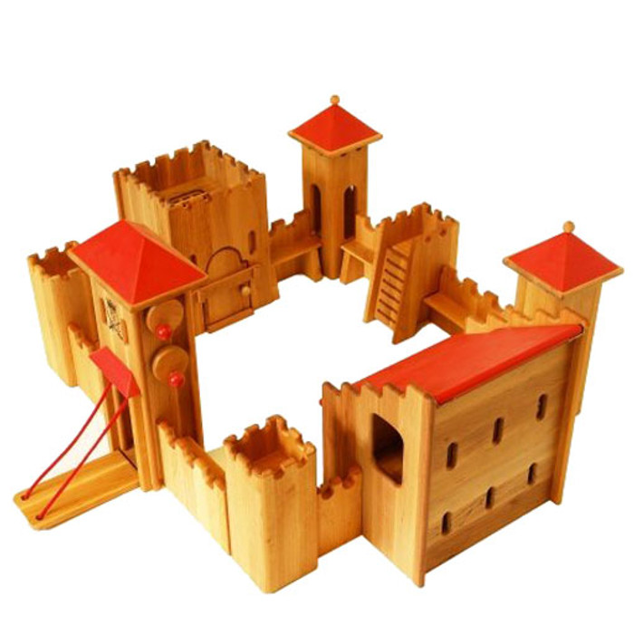 Drewart wooden castle set