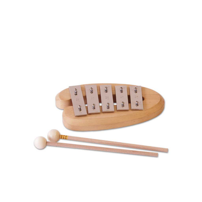 5 note glockenspiel, made in Germany