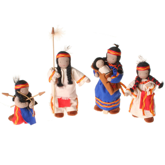 native american Anishnaabe family