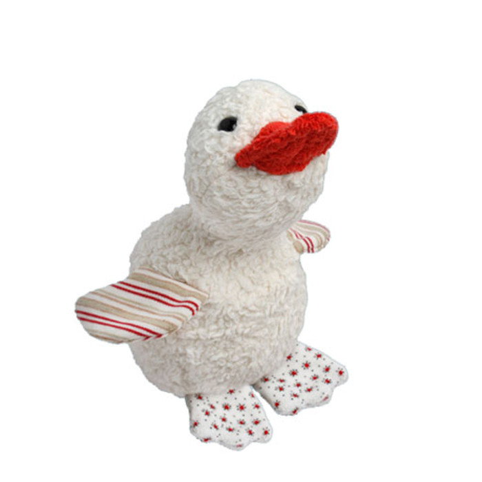organic cotton and wool duck