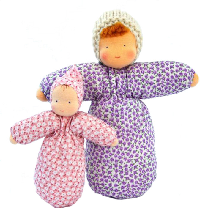 Evi Dolls, first baby bunting