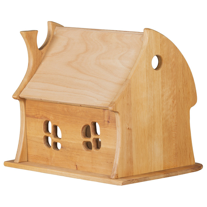 wooden toy fairy tale cottage