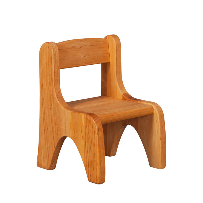 Big doll chair, wooden toy.  Made in Germany
