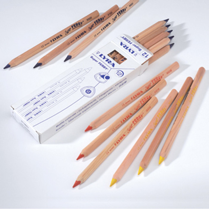 Lyra Super Ferby colouring pencils, singles
