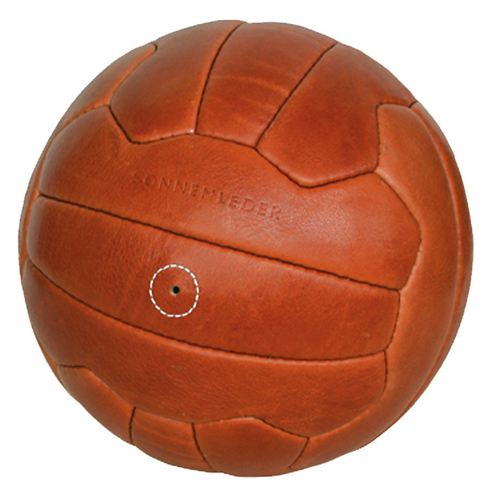 Sonnenleder classic vegetable-tanned leather soccer ball