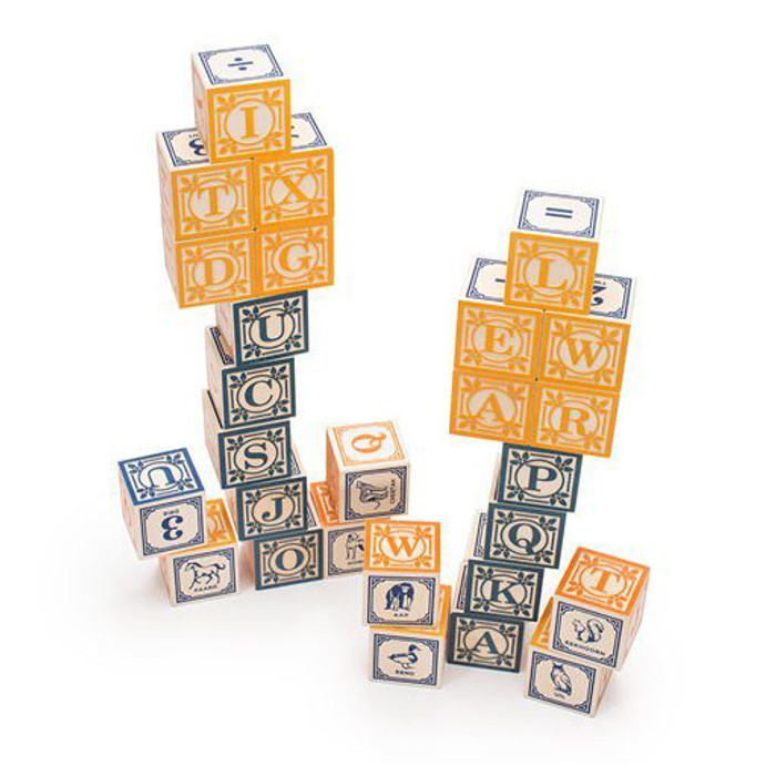 dutch alphabet blocks
