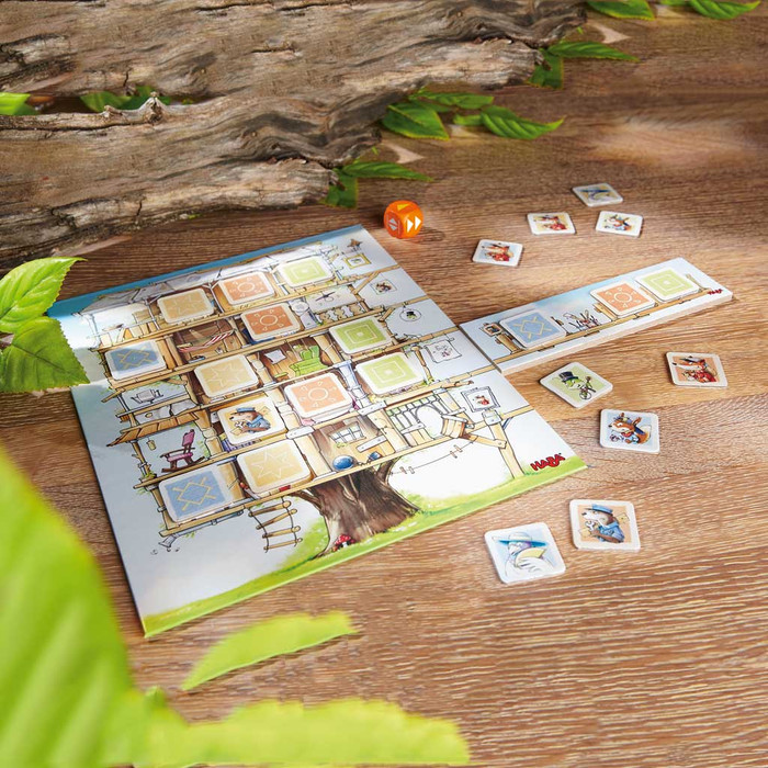 HABA Treetop Trouble travel game