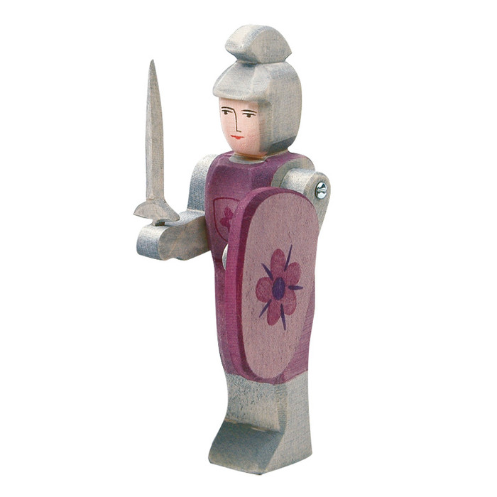 Ostheimer knight standing, red