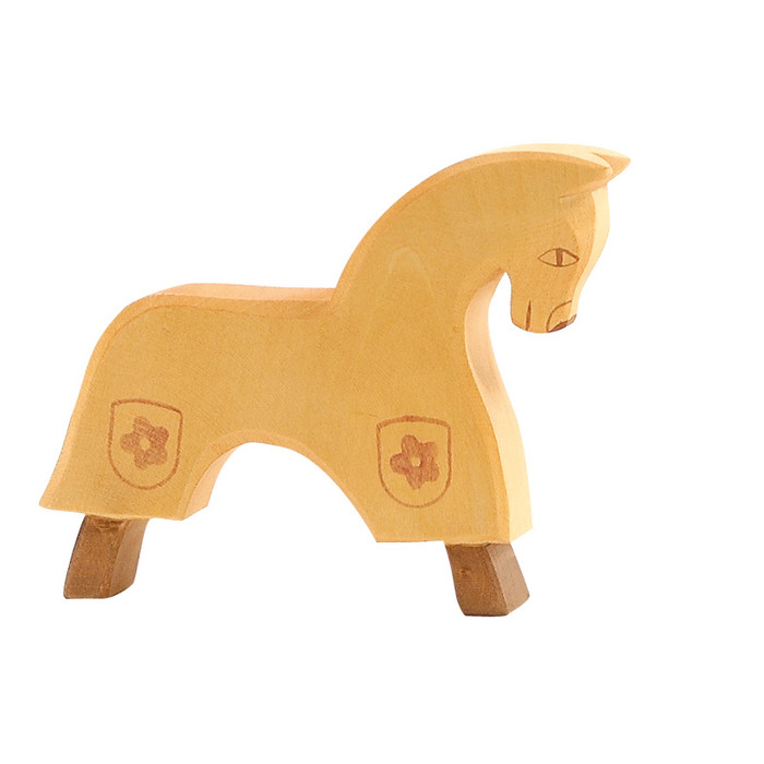 Ostheimer horse for knight, yellow