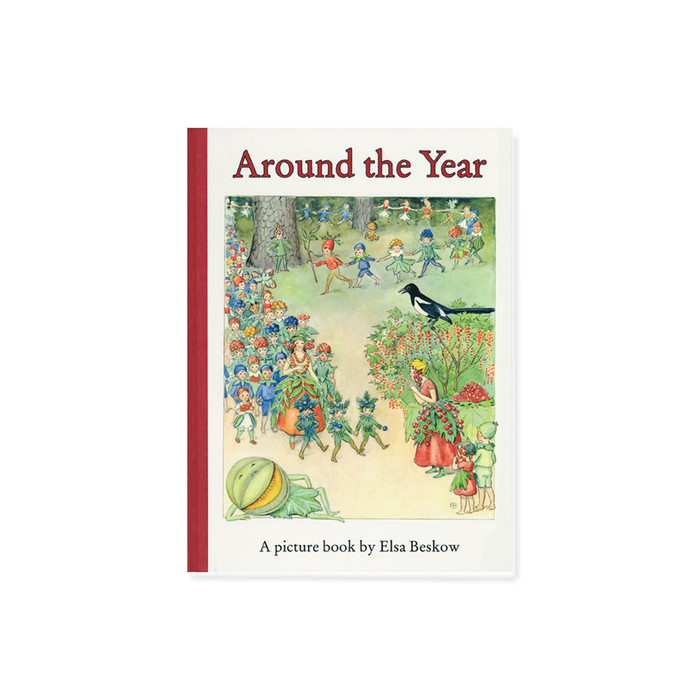 Around the Year Mini-edition by Elsa Beskow, hardcover.  Floris books.