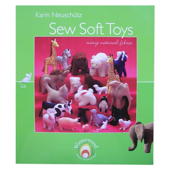 Sew Soft Toys using natural fibres