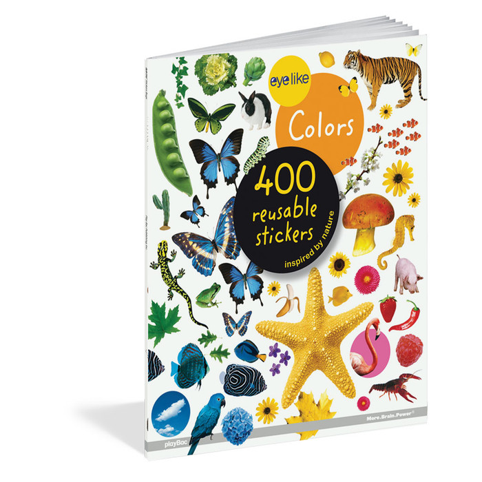 Colors, 400 reusable stickers