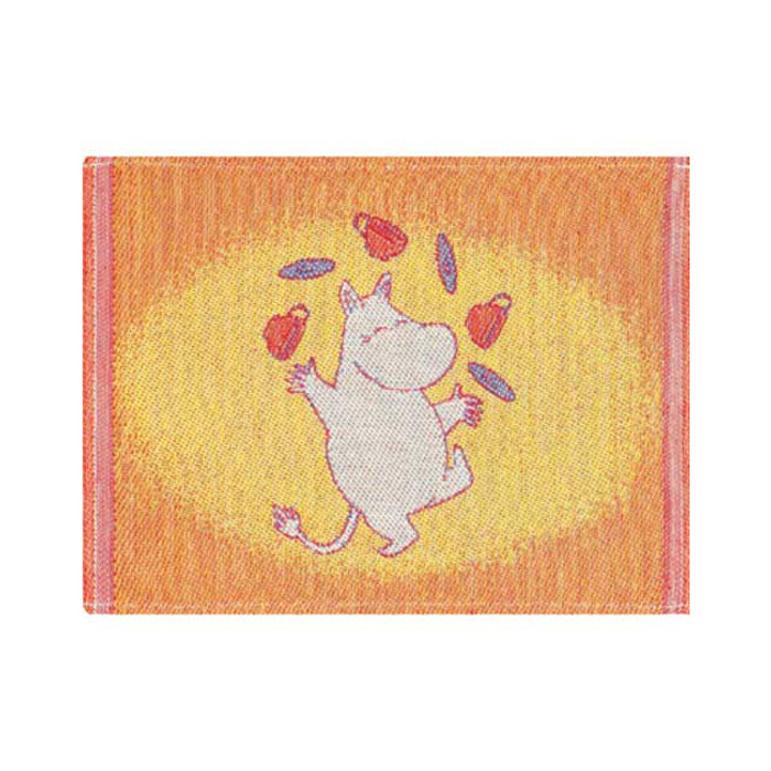 Moomin Juggle dishcloth