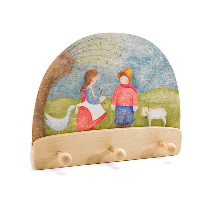 Ostheimer little shepherd boy and goose girl coat rack