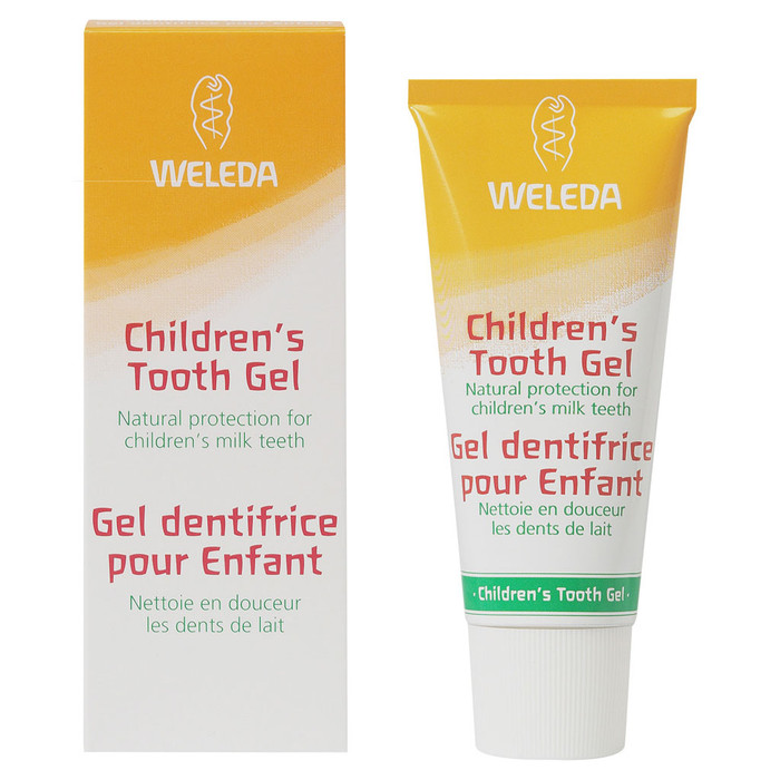 Weleda Children's Tooth Gel, 50 ml.   Made in Germany.