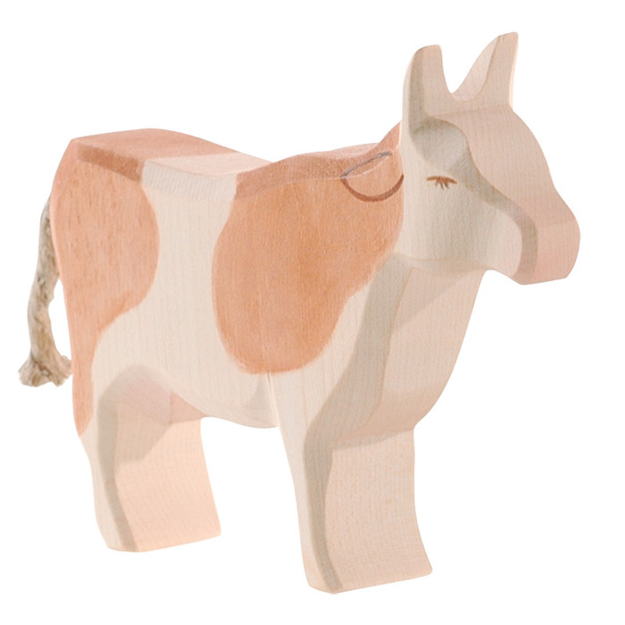 Ostheimer cow brown & white, standing