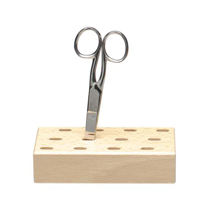 scissors holder block