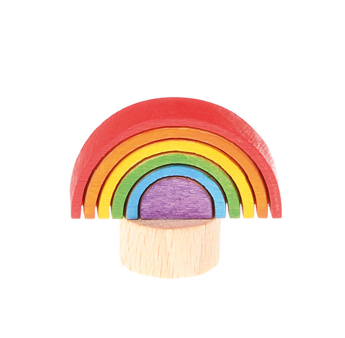 rainbow ornament for birthday ring