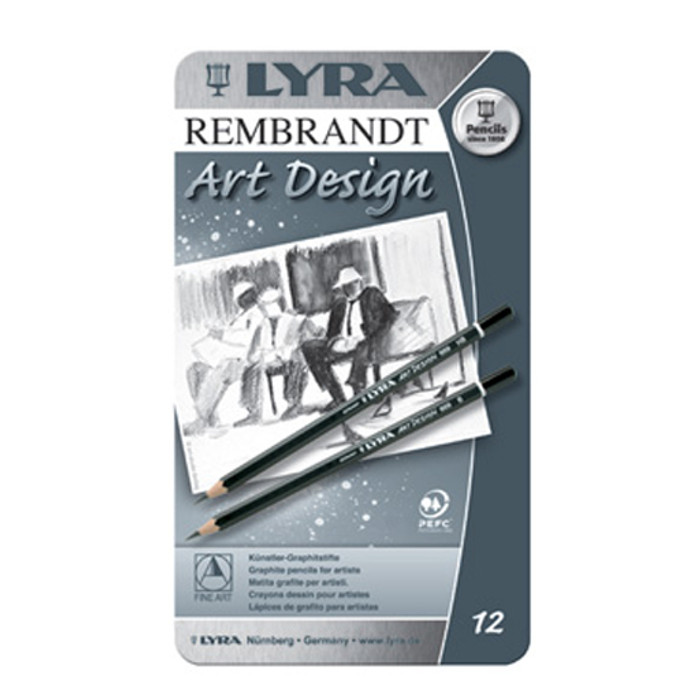 Lyra Art Design Drawing Pencils