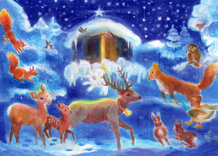 Christmas with the Animals Advent Calendar