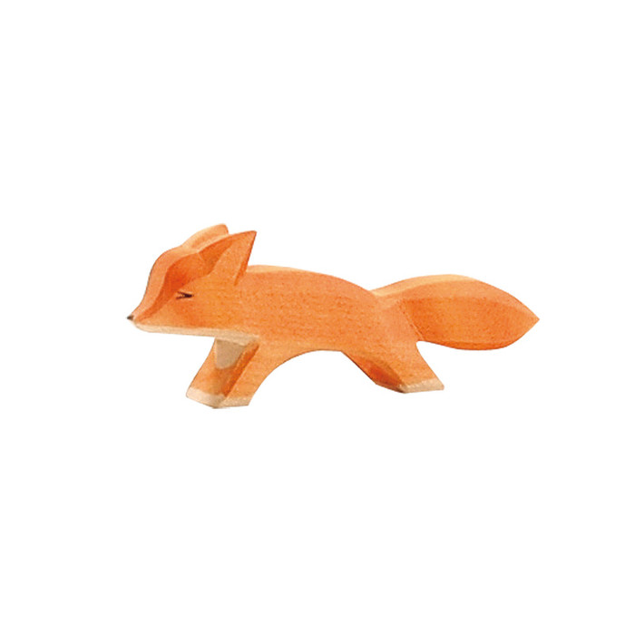 Ostheimer small fox running, 3.5 cm high.  Made in Germany.