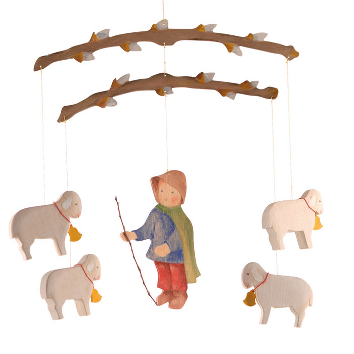 Ostheimer shepherd boy mobile