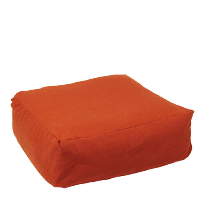 Mercurius spelt chair cushion with organic cotton cover.