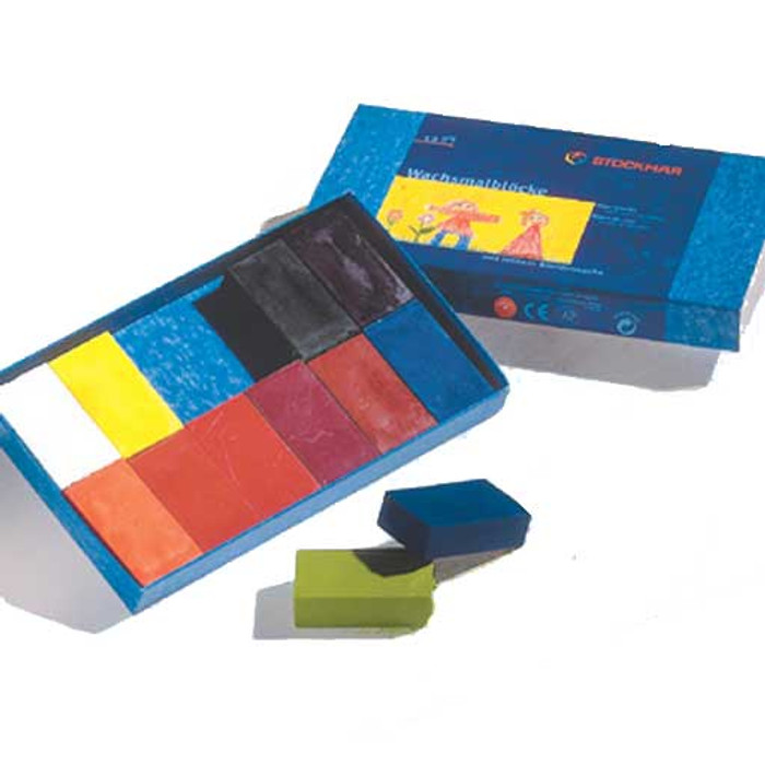 Stockmar block crayons 12 assorted