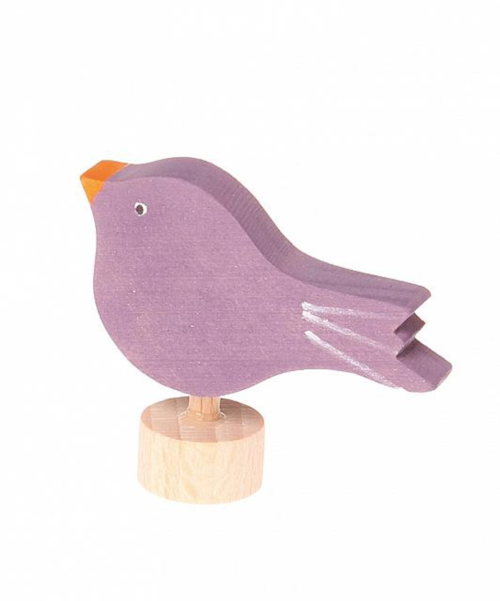 deco sitting bird