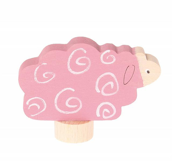 deco lying sheep