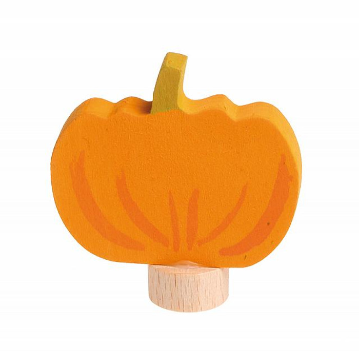 Grimm's pumpkin ornament.  Made in Germany.
