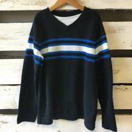 Urban Pipeline Navy Blue Stripe Sweater