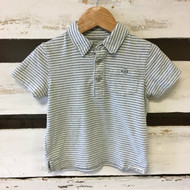 Baby Gap Grey & White Polo Shirt