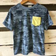Tucker & Tate Navy with Yellow Pocket Shirt