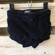 Baby Gap Navy Corduroy Shorts