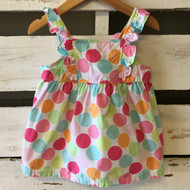 Gymboree Bright Polka Dot Summer Dress