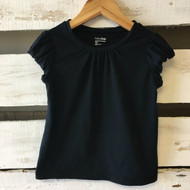 Baby Gap Black Cap Sleeves Top