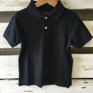 Talbots Kids Navy Blue Polo Shirt