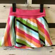 Gymboree Diagonal Striped Skirt