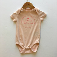 Baby Gap Pink 'Future Princess' Bodysuit