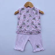Kissy Kissy Pink Zebra Summer Set