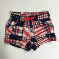 Gymboree Americana Patchwork Shorts